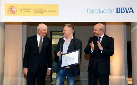 Foto 2.- Pedro Antonio Alemany-IES La Guancha. Tenerife. Premio Etapa Educación Secundaria